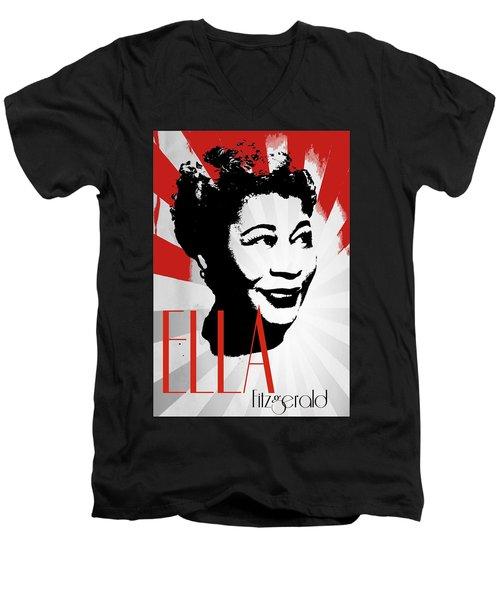 Ella Men's V-Neck T-Shirt