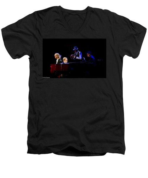 Elton - Gather Round Men's V-Neck T-Shirt