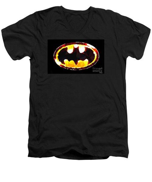 Emblem Of Hope Men's V-Neck T-Shirt