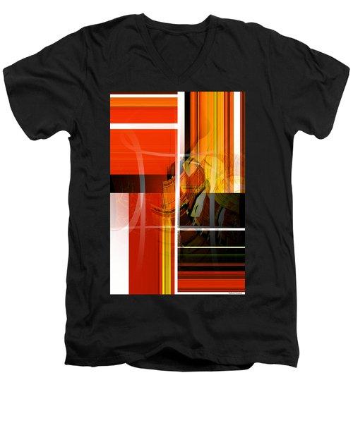 Emerging Concrete Life Men's V-Neck T-Shirt by Thibault Toussaint