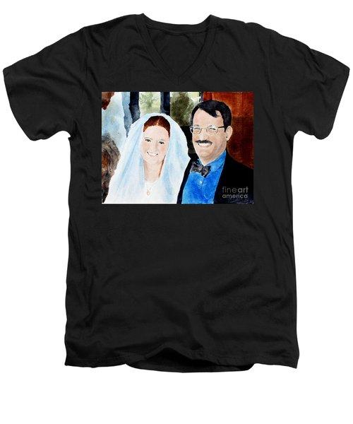 Emily And Jason Men's V-Neck T-Shirt