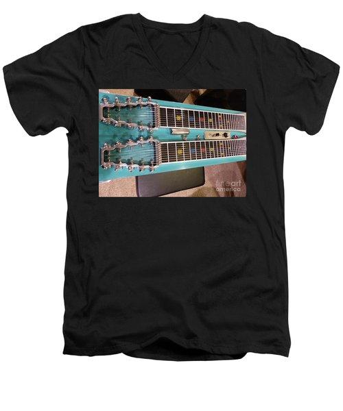 Emmons Lashley Legrande Pedal Steel Guitar Men's V-Neck T-Shirt