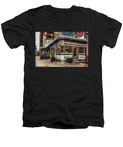 Empire Diner Men's V-Neck T-Shirt