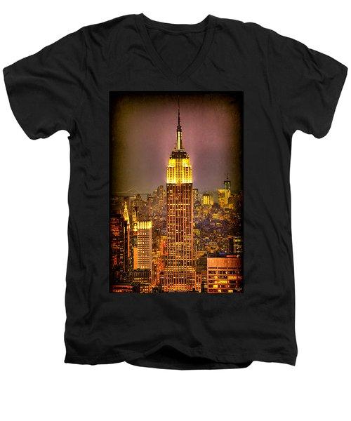 Empire Light Men's V-Neck T-Shirt