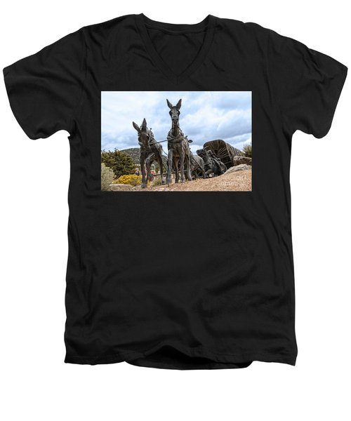 End Of The Long Trail Men's V-Neck T-Shirt
