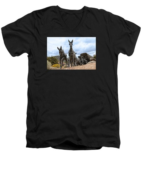 End Of The Long Trail Men's V-Neck T-Shirt