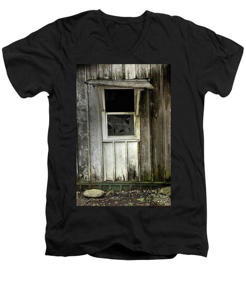 Men's V-Neck T-Shirt featuring the photograph Endless by Mike Eingle