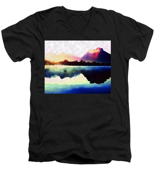 Energy Flow Men's V-Neck T-Shirt
