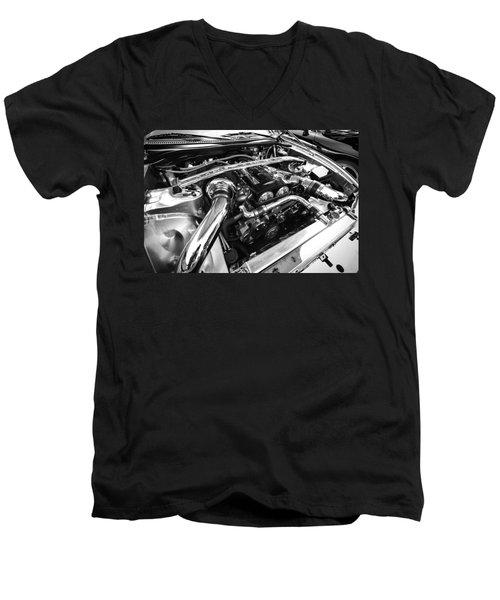 Engine Bay Men's V-Neck T-Shirt