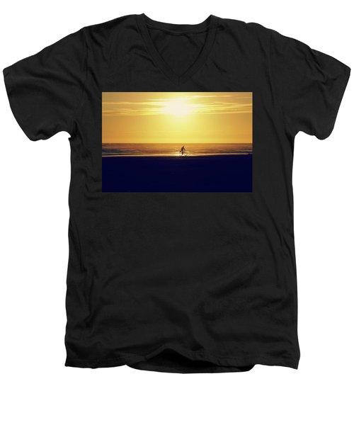 Enjoy The Ride Men's V-Neck T-Shirt