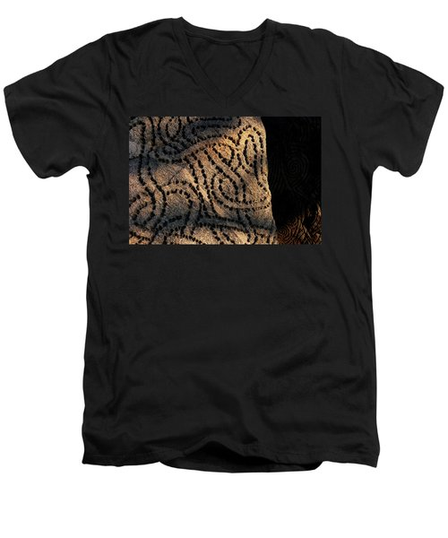 Entangled Men's V-Neck T-Shirt
