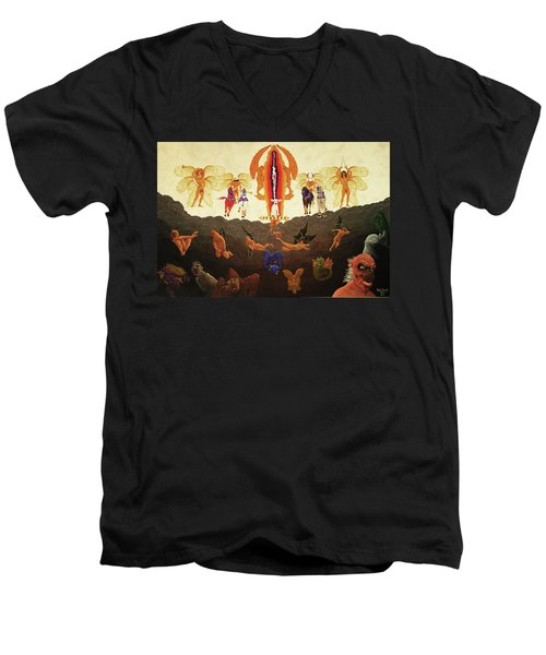 Epic - In The Valley Of Megiddo Men's V-Neck T-Shirt