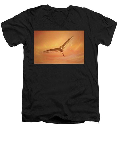 Epiphany Men's V-Neck T-Shirt by Marion Cullen