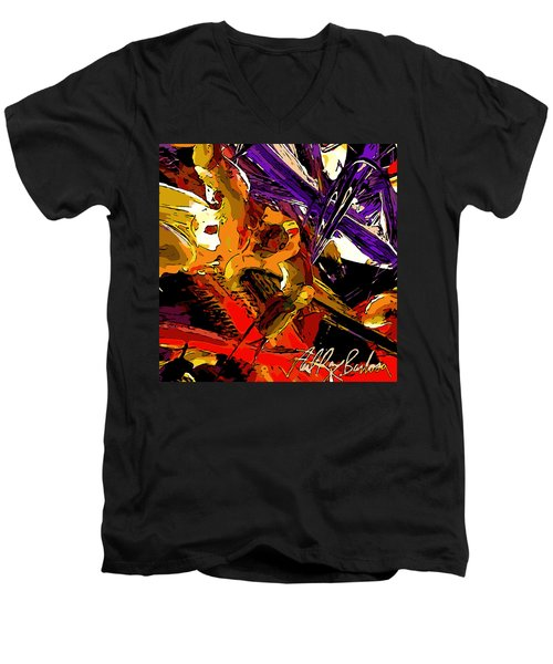 Equilibrium Malfunction  Men's V-Neck T-Shirt