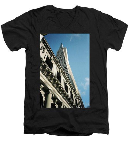 Eras, San Francisco Men's V-Neck T-Shirt