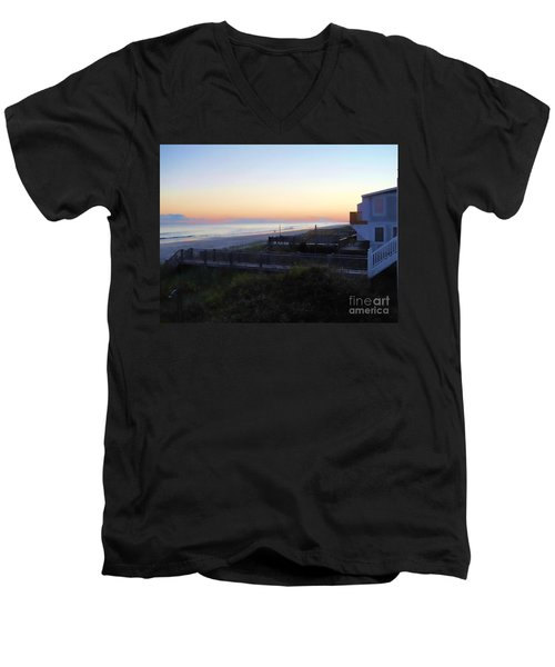 Men's V-Neck T-Shirt featuring the photograph Essence by Roberta Byram