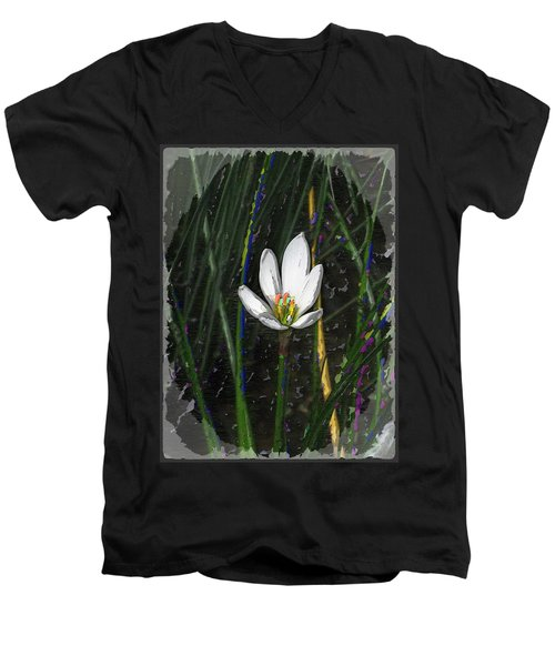 Estuary Elegance Men's V-Neck T-Shirt