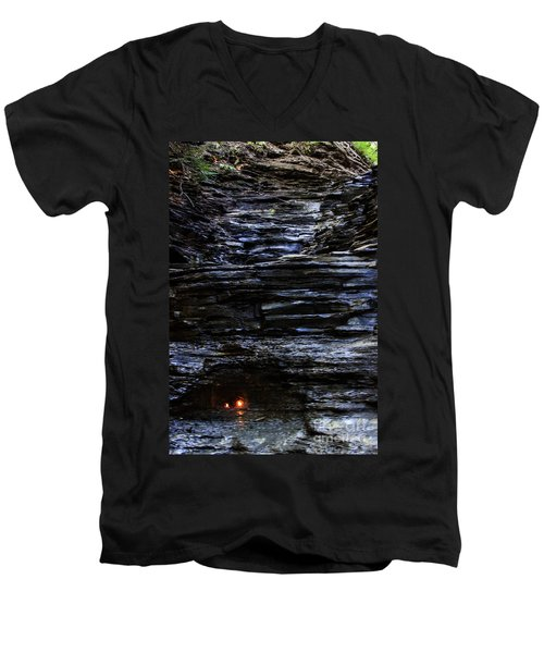 Eternal Flame Falls Men's V-Neck T-Shirt