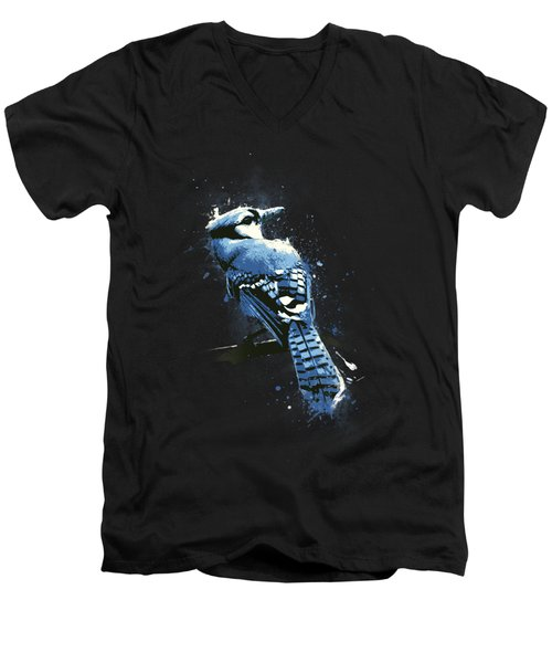 Eternal Gaze Men's V-Neck T-Shirt