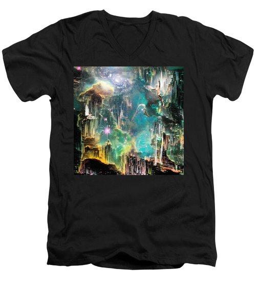 Eternal Kingdom Men's V-Neck T-Shirt