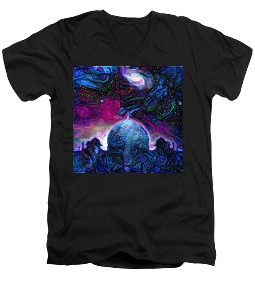 Eternal Temple Men's V-Neck T-Shirt