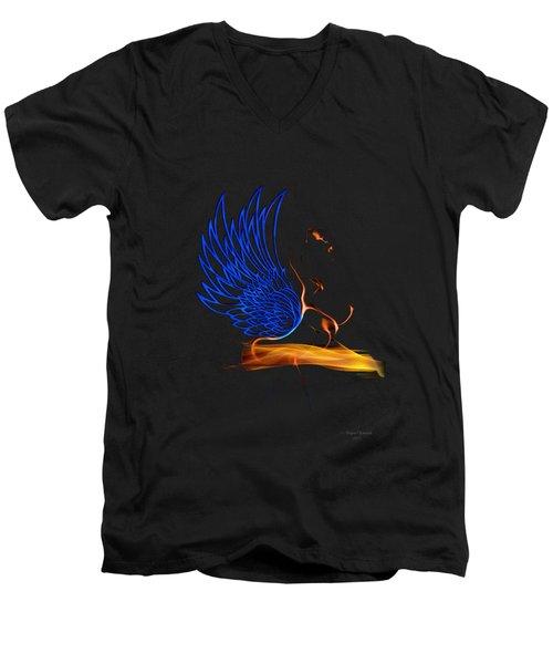 Ethnic Solar Wings Men's V-Neck T-Shirt