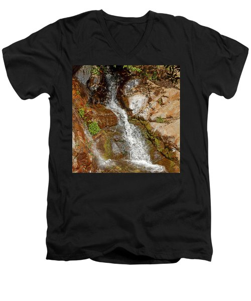Etiwanda Waterfalls Men's V-Neck T-Shirt