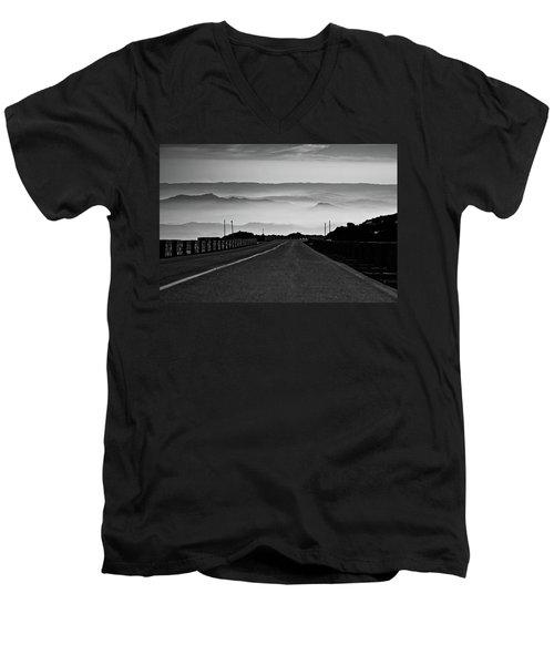 Etna Road Men's V-Neck T-Shirt
