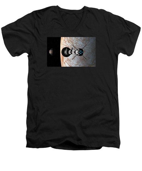 Europa Insertion Men's V-Neck T-Shirt
