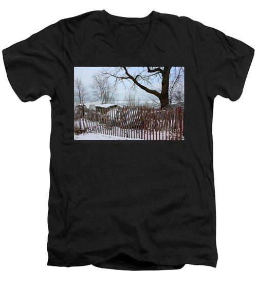Evanston Winter Men's V-Neck T-Shirt