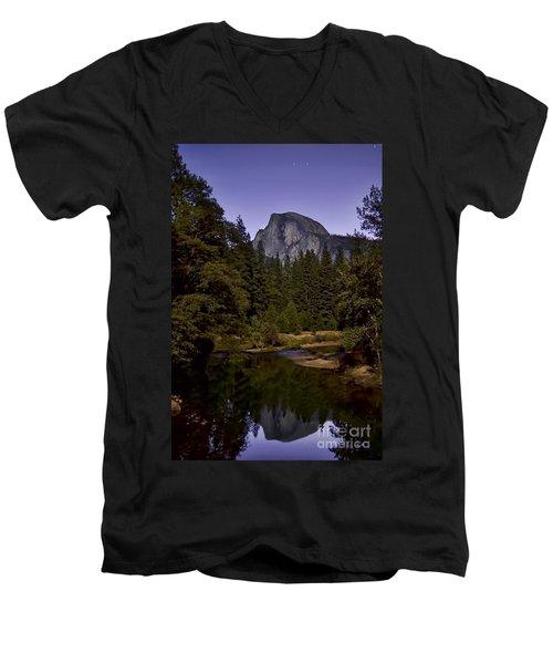 Evening Reflection Men's V-Neck T-Shirt
