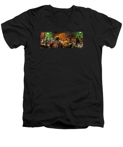 Everquest Brew Day Men's V-Neck T-Shirt
