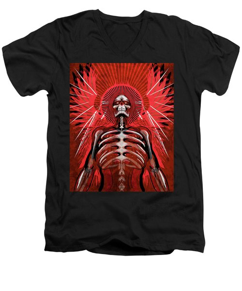 Excoriation Men's V-Neck T-Shirt