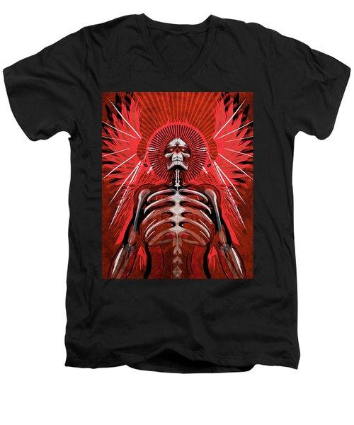 Excoriation Men's V-Neck T-Shirt