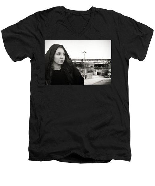 Exit Men's V-Neck T-Shirt