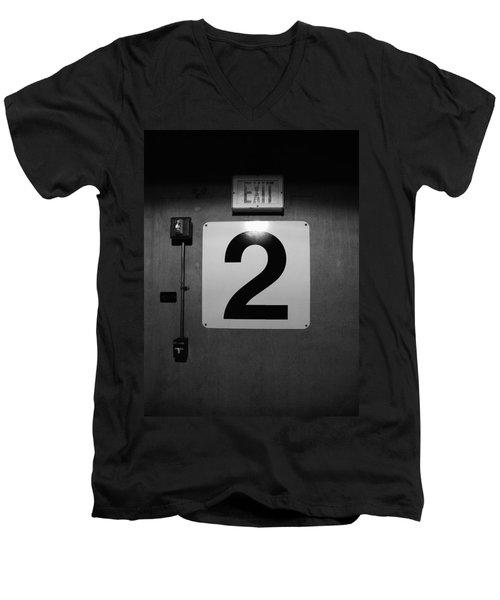 Exit Two Men's V-Neck T-Shirt