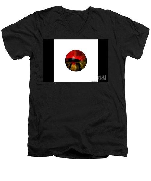 Exoplanet  Men's V-Neck T-Shirt