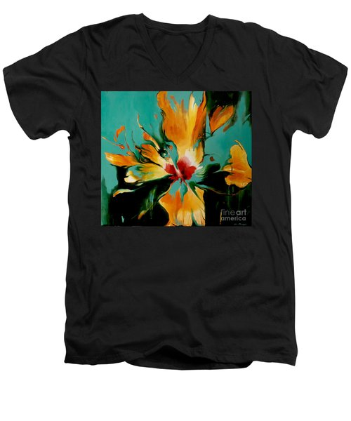 Exotic Men's V-Neck T-Shirt