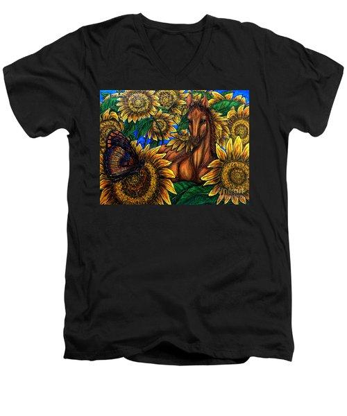 Expanded Awareness-other Men's V-Neck T-Shirt