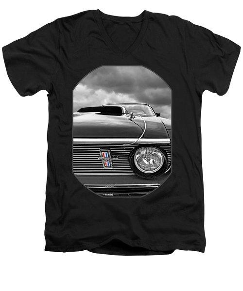 Eye Of The Storm Men's V-Neck T-Shirt