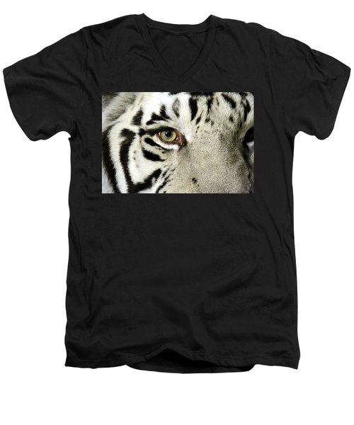 Eye Of The Tiger Men's V-Neck T-Shirt