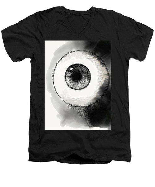 Eyeball Men's V-Neck T-Shirt