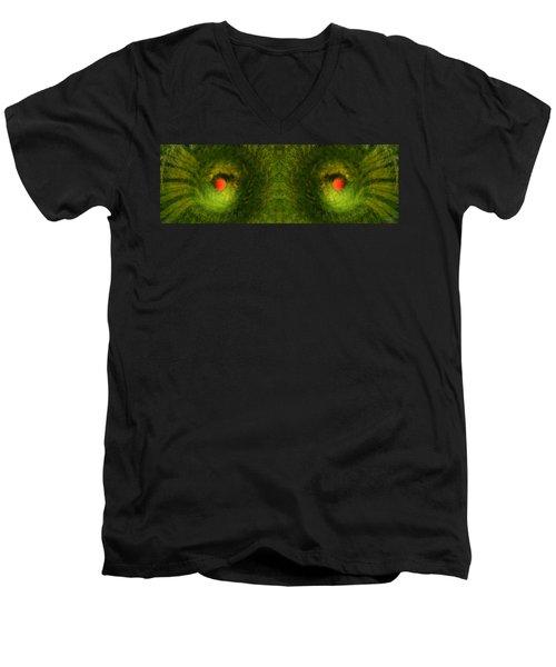 Eyes Of The Garden-2 Men's V-Neck T-Shirt