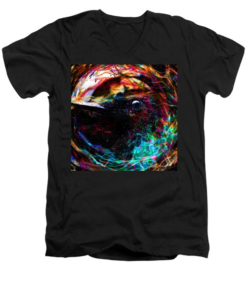Eyes Of The World Men's V-Neck T-Shirt