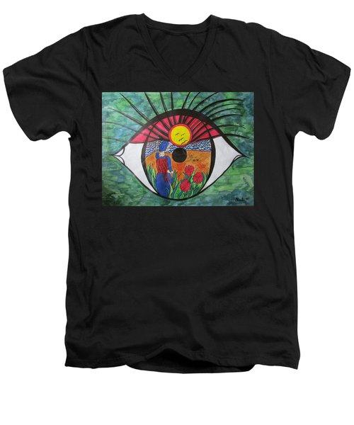 Eyewitness Men's V-Neck T-Shirt