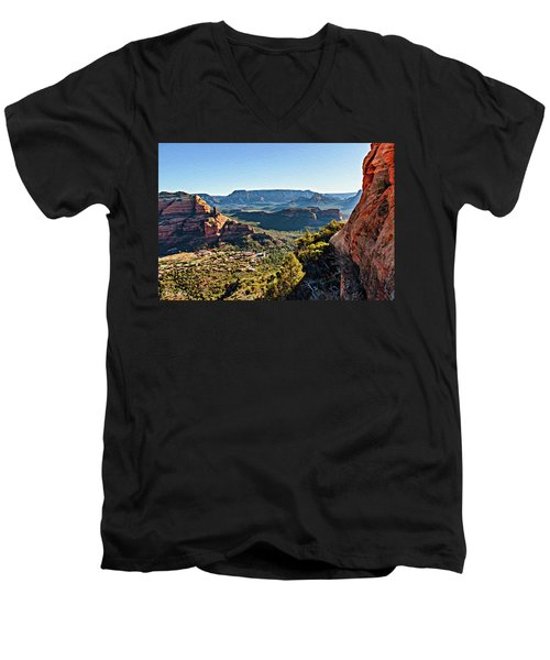 F And B Ridge 07-028 Men's V-Neck T-Shirt