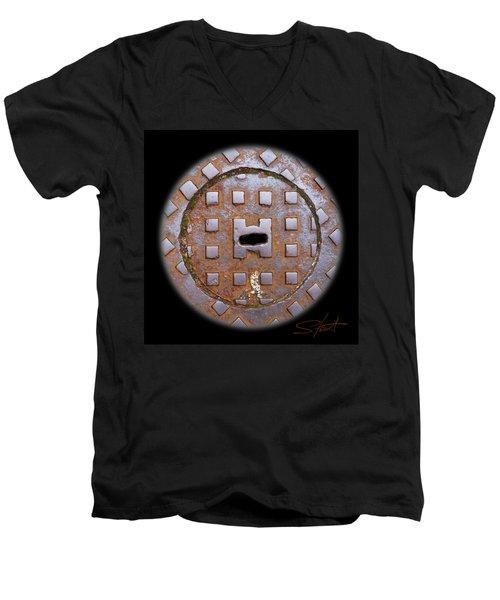 Face 2 Men's V-Neck T-Shirt
