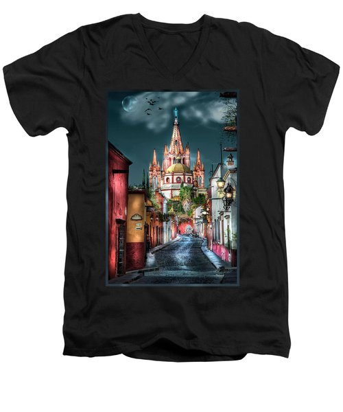 Fairy Tale Street Men's V-Neck T-Shirt