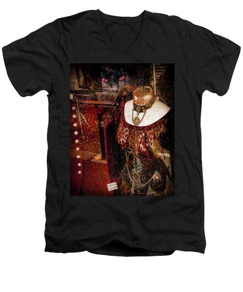 Paris, France - Fait Main En France Men's V-Neck T-Shirt