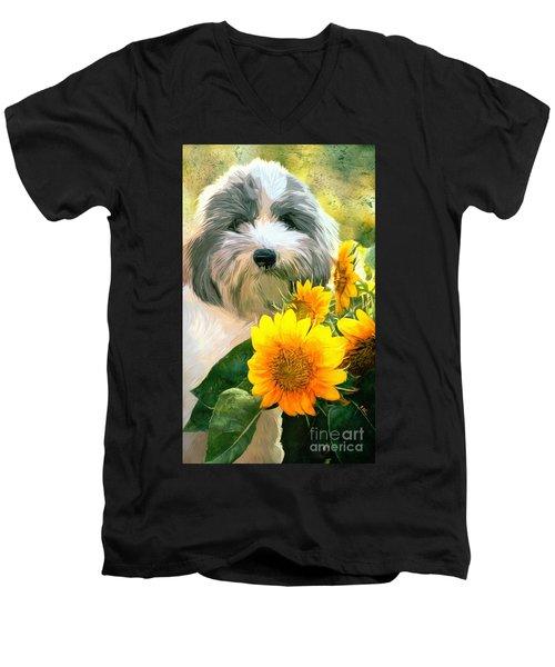 Faithful Floyd Men's V-Neck T-Shirt